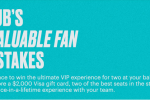 MLB Stubhub's Most Valuable Fan Sweepstakes