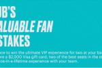 MLB Stubhub's Most Valuable Fan Sweepstakes