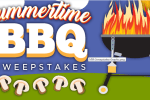 Monterey Mushrooms Summertime BBQ Sweepstakes Chance To Win Portable Gas Grill And BBQ Tool Kit