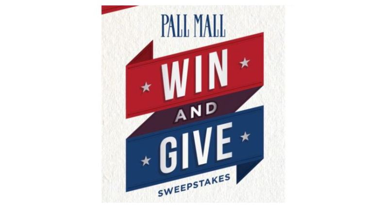 PALL MALL WIN AND GIVE PROMOTION SWEEPSTAKES