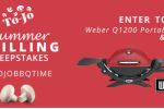 To-Jo Mushrooms Summer Grilling Sweepstakes