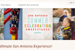Visit San Antonio Summer Celebration Sweepstakes