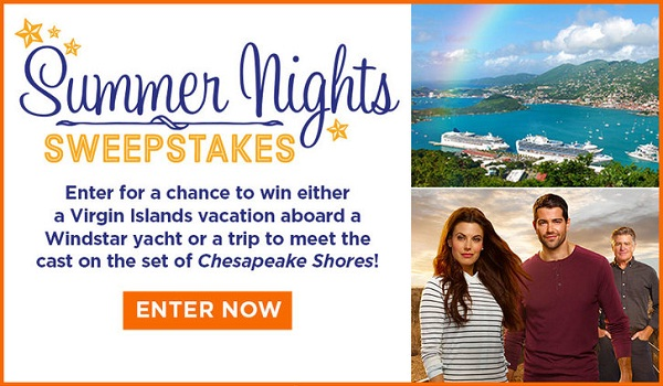 Hallmarkchannel.com Summer Nights Sweepstakes