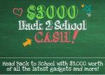 Back 2 School Cash Sweepstakes