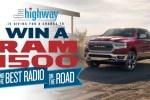 SiriusXM Ram Sweepstakes – Win a 2019 Ram 1500