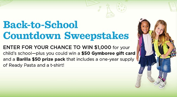 Parents - Back-to-School Countdown Sweepstakes