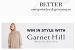Better Homes & Gardens Win In Style With Garnet Hill Sweepstakes