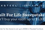 Flexsteel Built For Life Sweepstakes