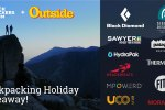 Backpacking Holiday Giveaway - Win over $1400 in prize