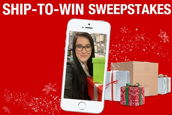 Staples Ship to Win Sweepstakes