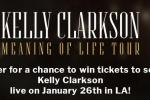 Topsify Kelly Clarkson Follow to Win Sweepstakes