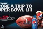 Pepsipromos Score Super Bowl LIII Getaway Sweepstakes