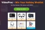 Win Your Holiday Wish List with VideoProc Sweepstakes