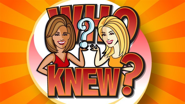 KLG and HODA Today Who Knew Sweepstakes