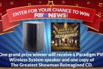 FOX21'S The Greatest Showman Reimagined Sweepstakes