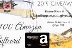Sean Supplee 2019 Giveaway