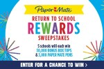 BoxTops4Education Paper Mate Return to School Sweepstakes