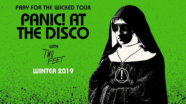 Panic At the Disco 2019 Tour Row-A-Show Sweepstakes