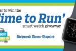 Time To Run Smart Watch Giveaway