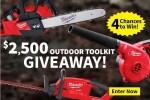 Milwaukee Outdoor Toolkit Giveaway