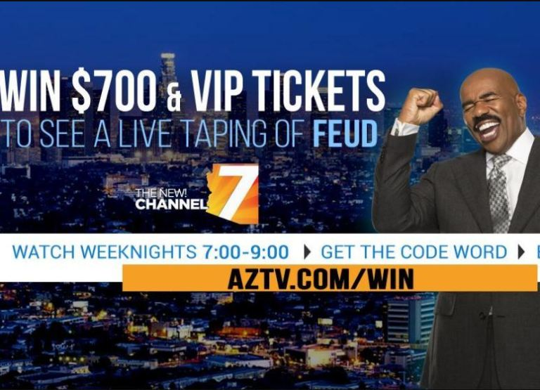 AZTV Family Feud Tickets Sweepstakes