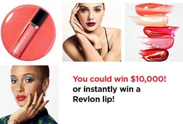 Revlon Lip Boldly Instant Win Game and Sweepstakes