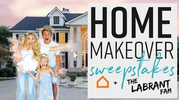 Ashley Furniture LaBrant Family Home Makeover Sweepstakes