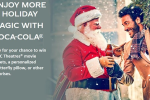 cocacola holiday instant win game