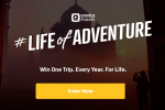 Exodus Life of Adventure Sweepstakes: Win a Trip for Life!