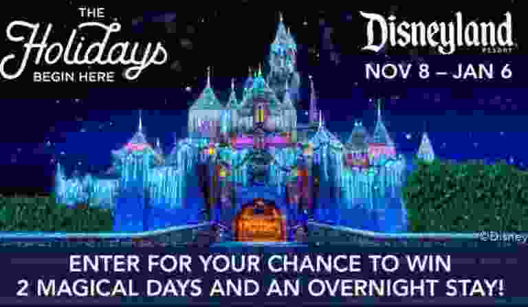 ABC7 Disneyland Resort Holidays Sweepstakes