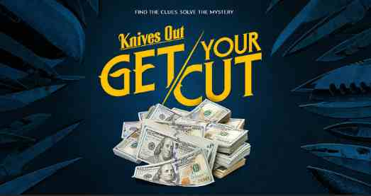 Knives Out Get Your Cut Sweepstakes