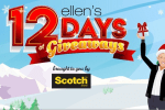 Ellentube.com 12 Days of Giveaways 2019