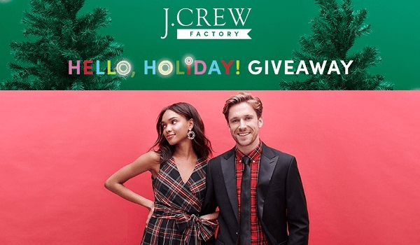 J.Crew Factory Holiday Giveaway 2019