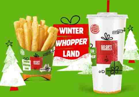 Burger King Winter Whopperland Instant Win Game Sweepstakes