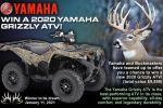 Buckmasters 2020 Yamaha Grizzly ATV Contest
