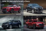 Win Chevrolet Car in Experience Chevrolet Today Win A Chevy Sweepstakes