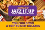 Zatarain's Jazz It Up Mardi Gras Sweepstakes