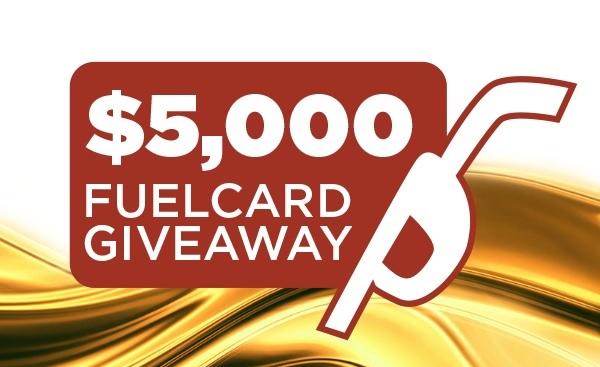 Lazydays $5,000 Fuel Card Giveaway