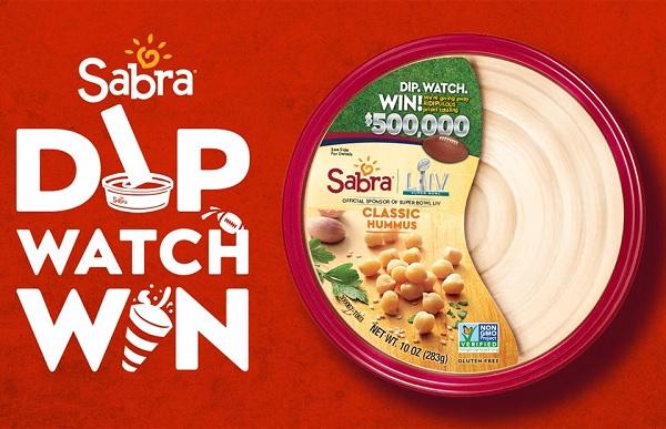 Sabra's Dip. Watch. Win Sweepstakes