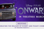 Ashley HomeStore Disney and Pixar's Onward Sweepstakes