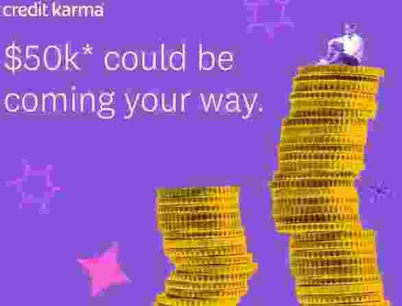 Credit Karma $50k Sweepstakes