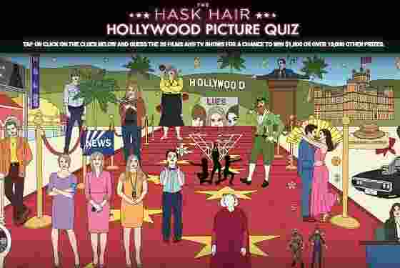 Hask Hollywood Picture Quiz Contest
