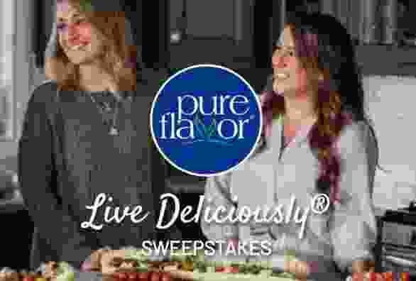 Pure Flavor Live Deliciously Sweepstakes
