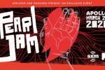 SiriusXM Pearl Jam Apollo Sweepstakes