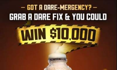 Dare Iced Coffee Competition – Win $10,000 Fix