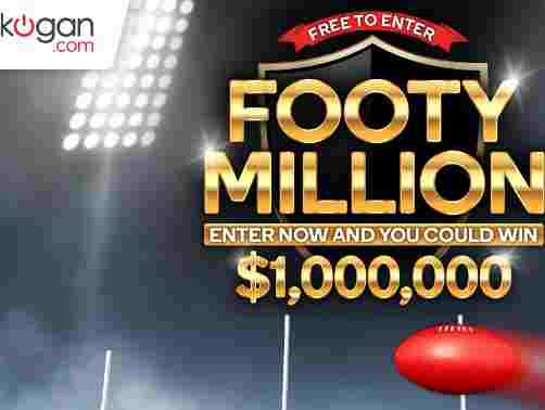 Kogan Footy Millions Competition