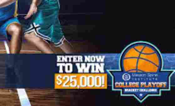 Masson Spine Institute $25,000 College Playoff Bracket Challenge Contest