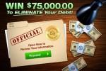 PCH.com $75,000 Eliminate Your Debt Giveaway