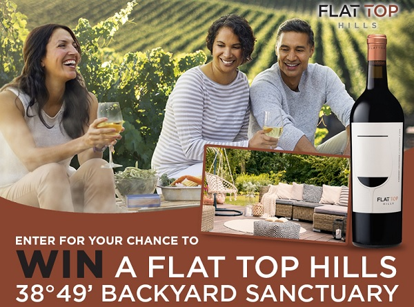 Flat Top Hills Backyard Sanctuary Sweepstakes Win Pre Paid Gift Card