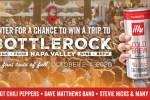 Illy BottleRock Festival Sweepstakes